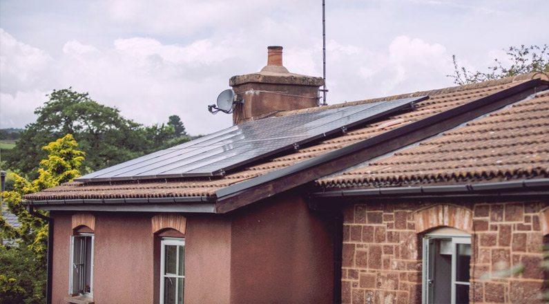 Solar Installation Kenn, Devon