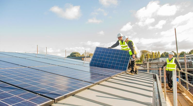Solar Panels for Housing Developments