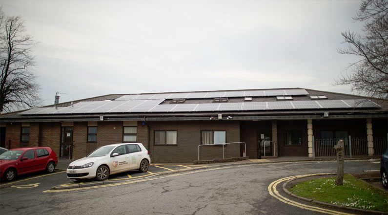 Mount Pleasant Health Centre has Solar PV