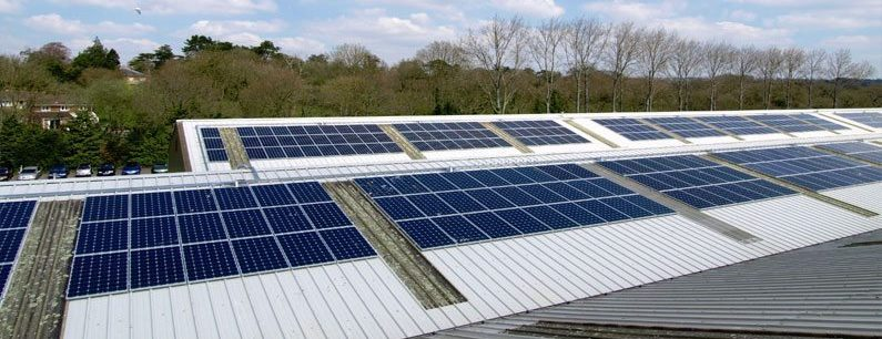 Solar panel installers for businesses