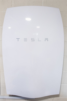 Devon's first Tesla Powerwall, installed in Torquay by SunGift Energy