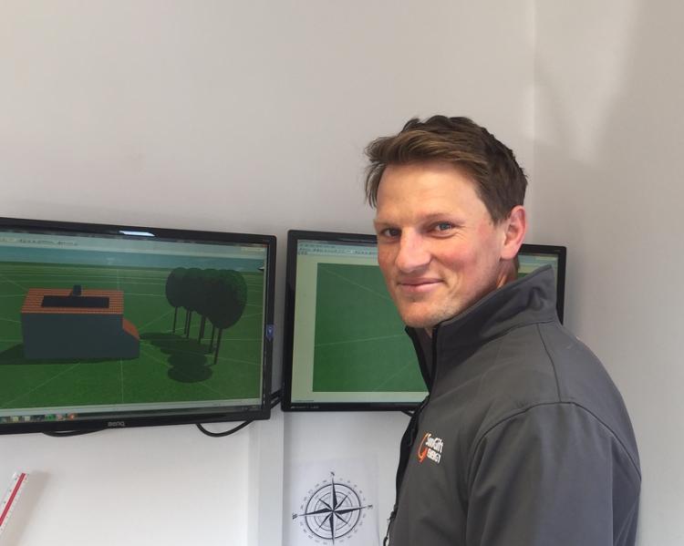 Meet the team – Ollie Gibbs – PV & battery system designer
