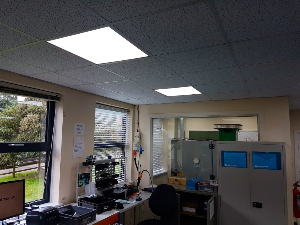 Case Study – Advanced Pallet Systems LED lighting project -Bideford