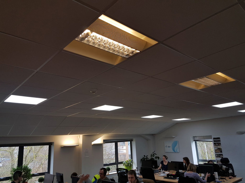 Leads To You – LED lighting upgrade for office