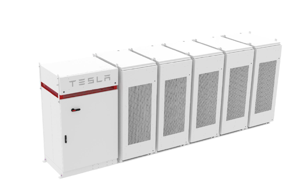 We are now a Tesla Powerpack certified company