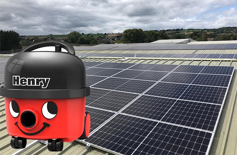 SunGift Solar Increase Solar PV Capacity at Numatic International – Home to Iconic Henry Vacuum Cleaner