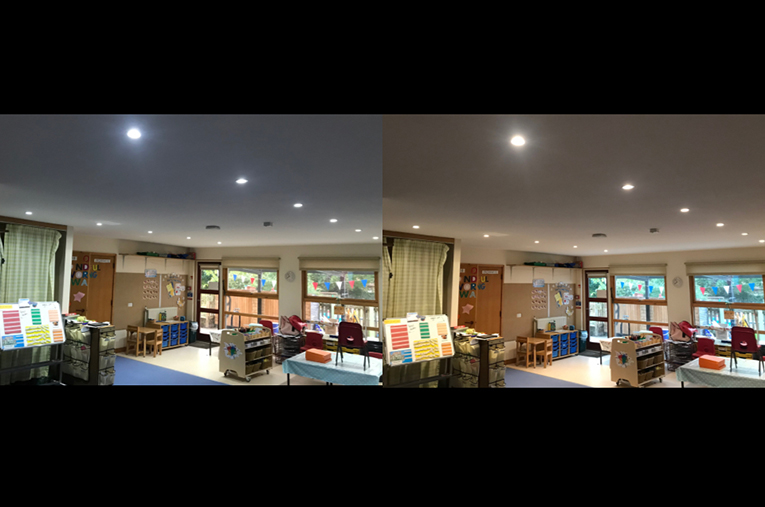 LED Lighting Installed at Exeter School by SunGift Energy