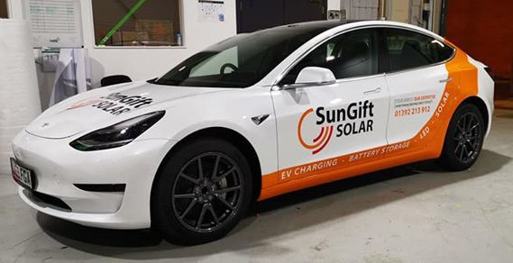 SunGift White Tesla cropped
