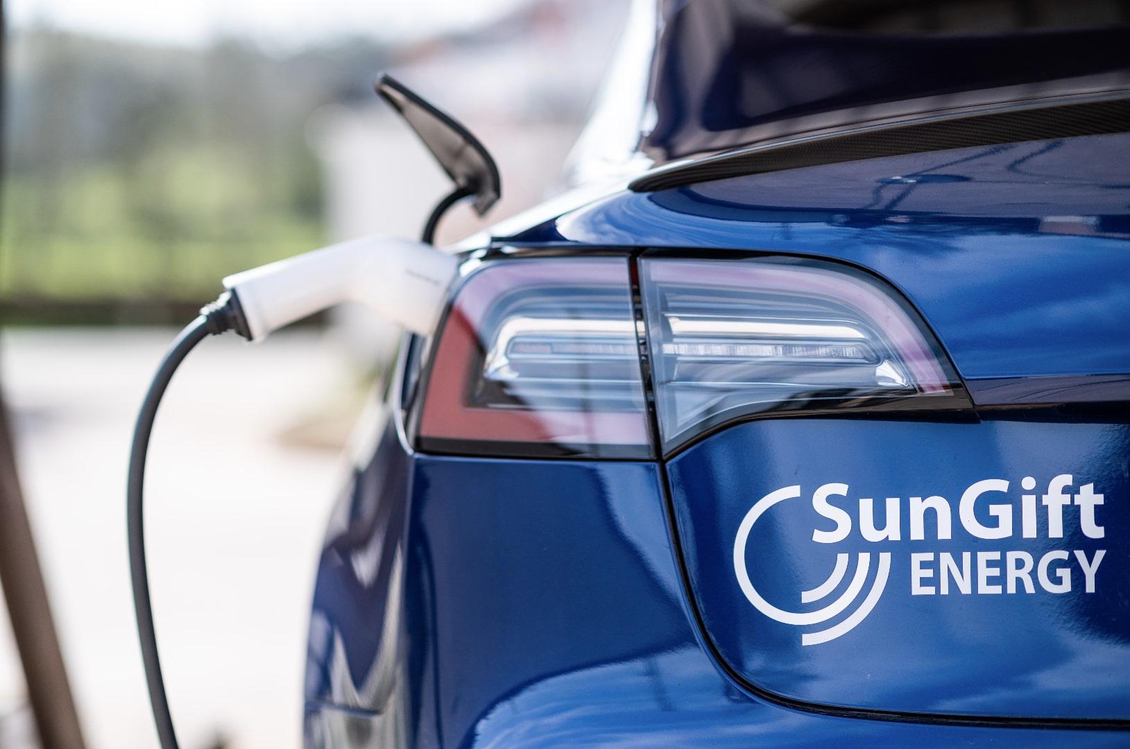 electric car charger tesla