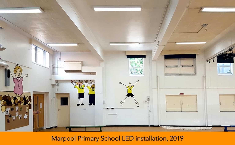 Marpool Primary School LED installation
