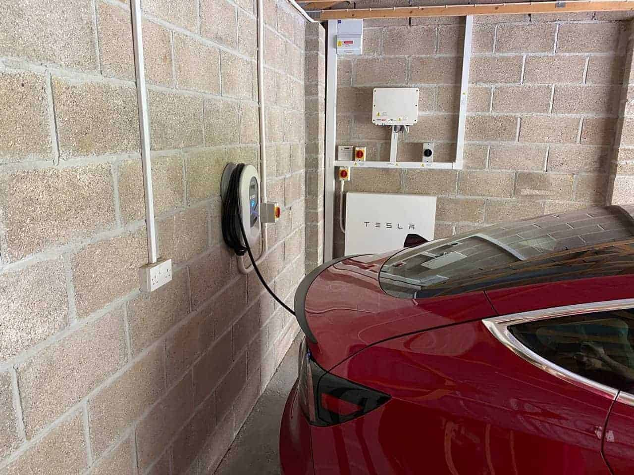Paul: integrated solar PV, car charger and battery storage