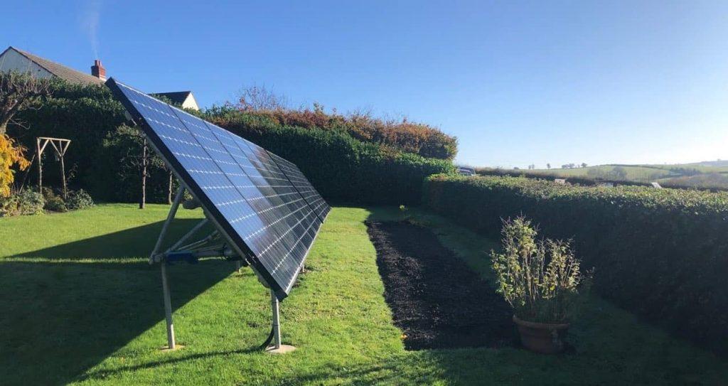 John: Ground mounted solar PV
