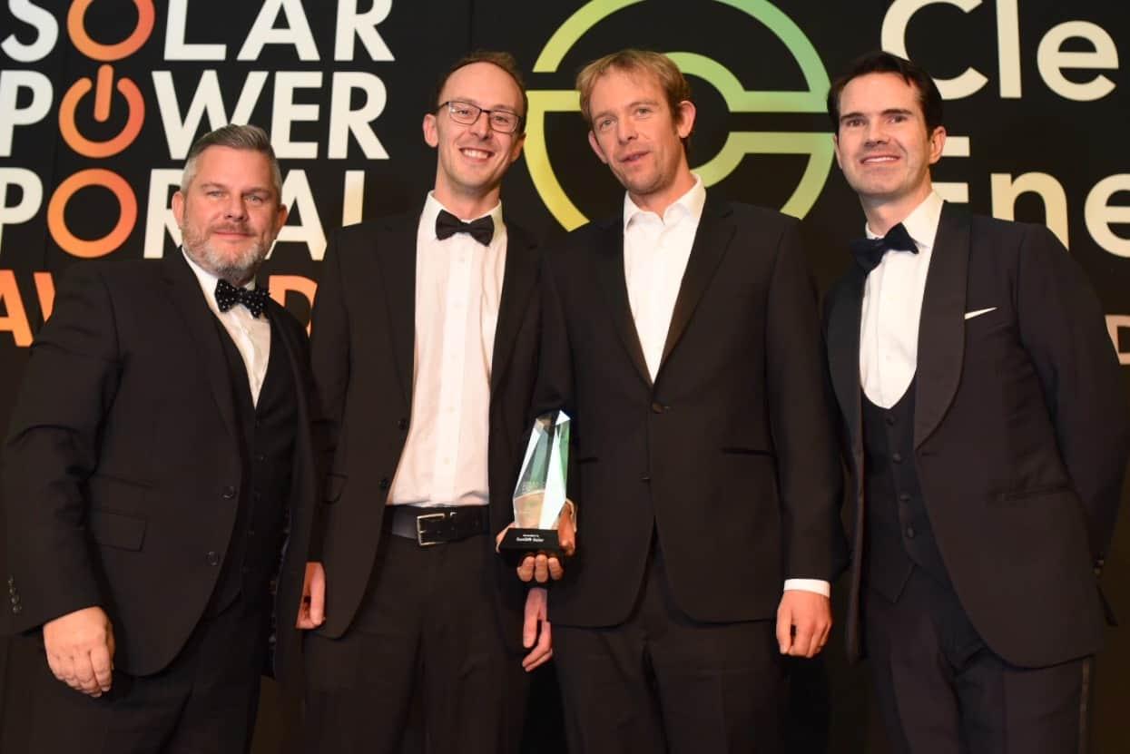 Sungift team receives award