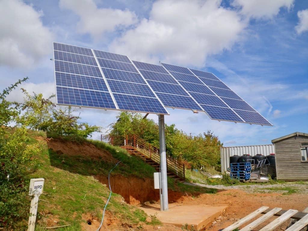Darts Farm Solar Panel