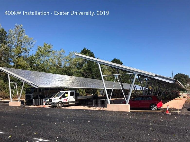 Exeter Uni Carport Marked Up