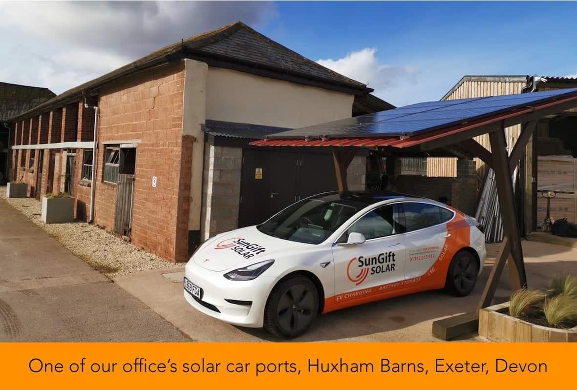Huxham solar car port